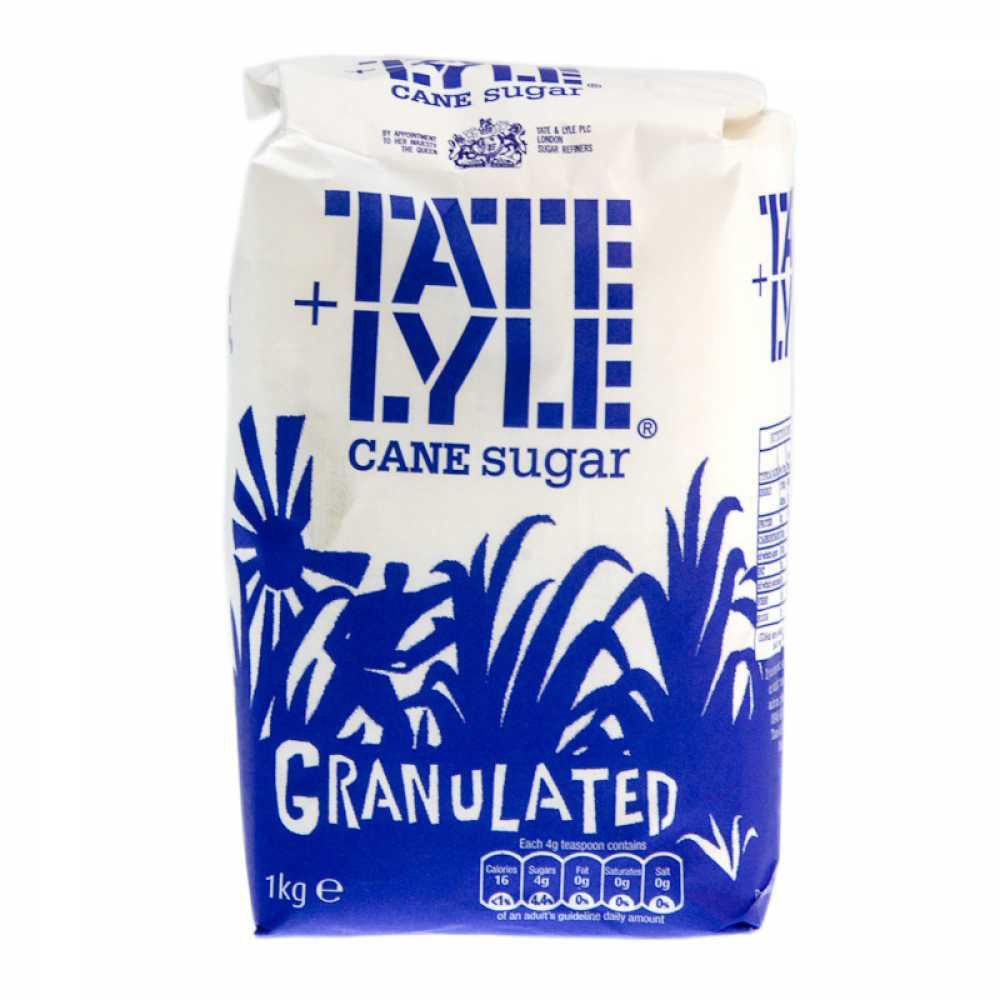 Sugar / Sweetener Tate & Lyle Granulated Pure Cane Sugar Bag 1kg Ref NST548
