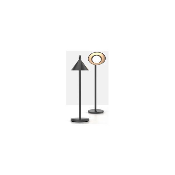 Unilux Sol LED Desk Lamp Adjustable Arm 4W Max Height of 450mm Base Diameter 140mm Black Ref 400086979