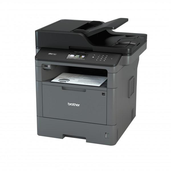 Multi function printers Brother MFC-L5700DN Pro All-In-One Mono A4 Laser Printer Fax 40ppm Auto Duplex Ref MFCL5700DNZU1