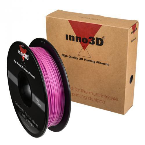 Inno3D ABS Filament for 3D Printer 1.75x200mm 0.5kg Pink Ref 3DPFA175PK05