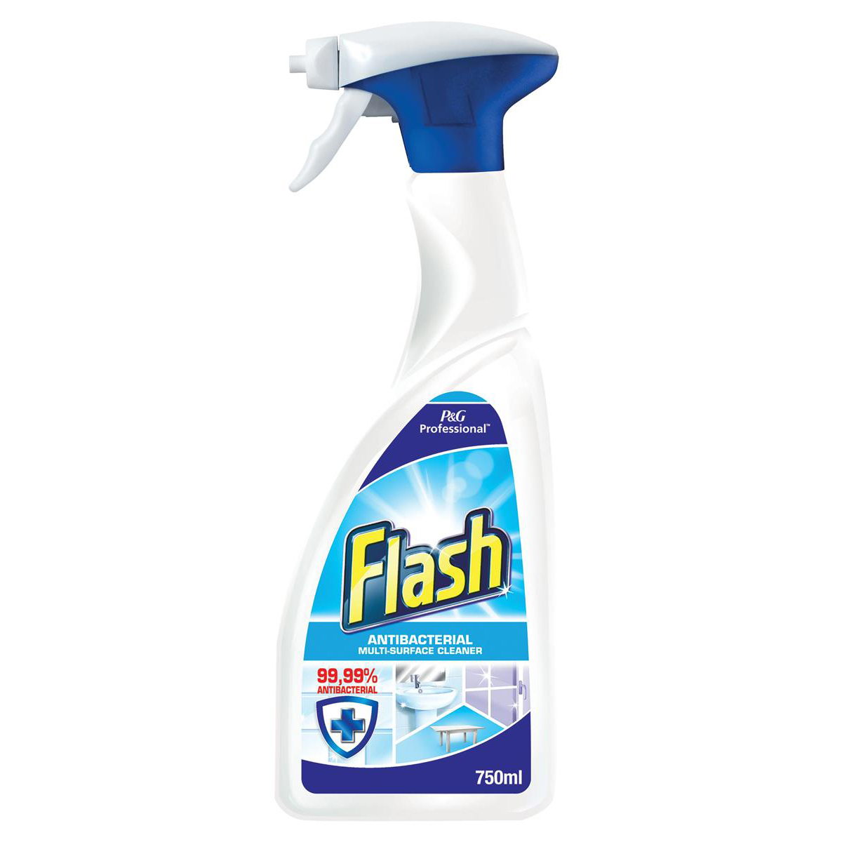 Flash Professional Cleaning Spray Antibacterial Ref 87446