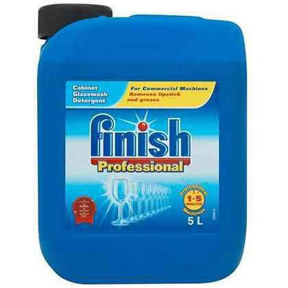 Dishwashing products Finish Professional Glasswash Detergent 5 Litre Ref RB534137