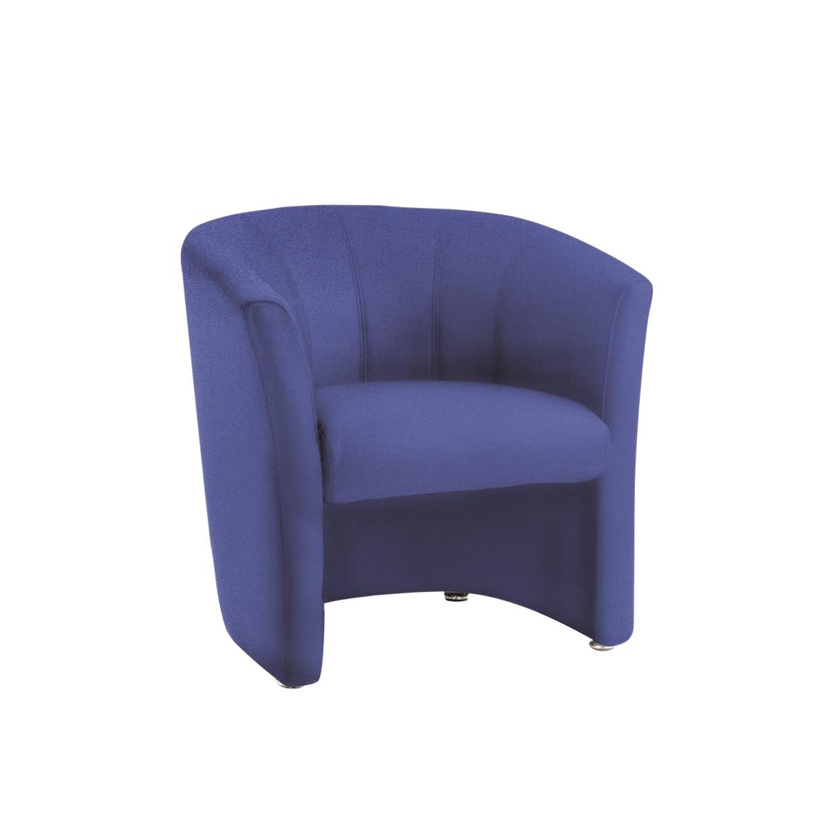 #Trexus Tub Arm Chair Blue 450x480x460mm Ref BR000101