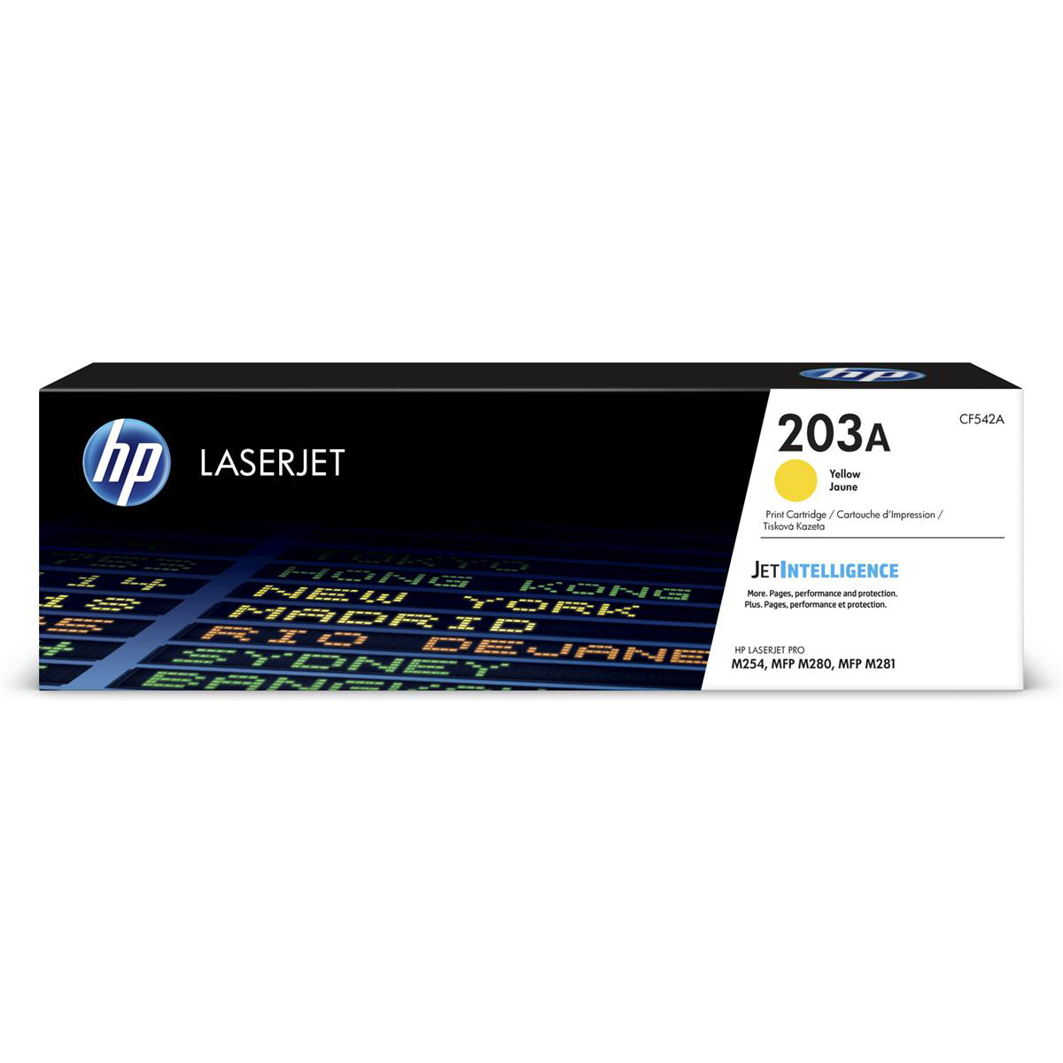 HP 203A LaserJet Toner Cartridge Page Life 1300pp Yellow Ref CF542A