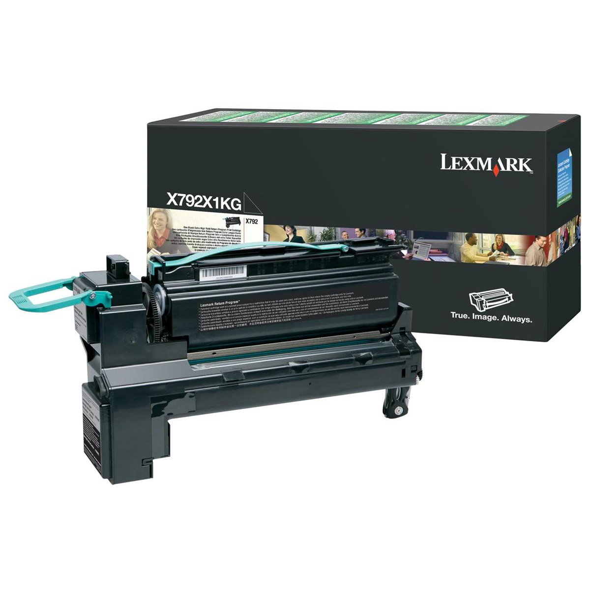 Lexmark X792 Toner Cartridge Return Program Extra High Yield Page Life 20000pp Black X792X1KG