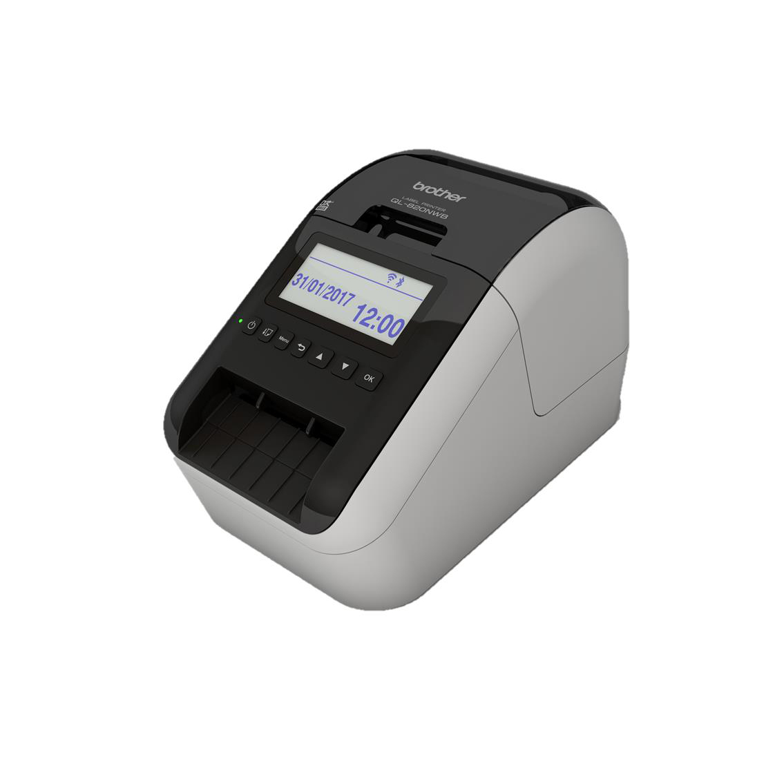 Brother Professional Label Printer Network Enabled Wireless 62mm Labels 176mm per Second Ref QL820NW