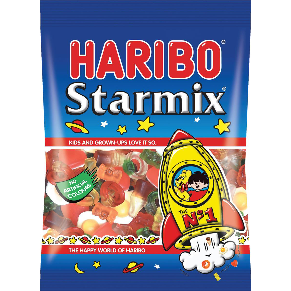 Sweets / Chocolate Haribo Starmix Sweets 140g Ref 73073