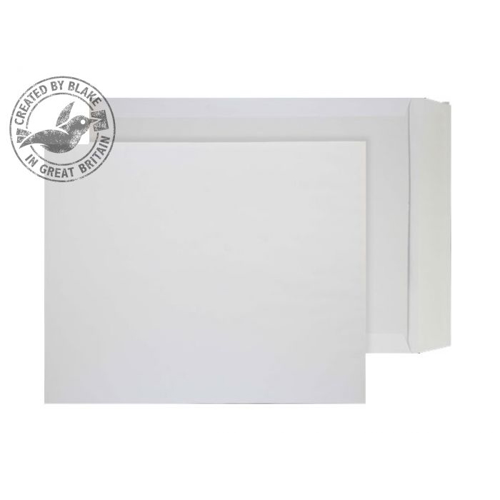 Purely Packaging Envelope Board Backed P&S 394x318mm White Ref 3200 [Pack 125] 10 Day Leadtime