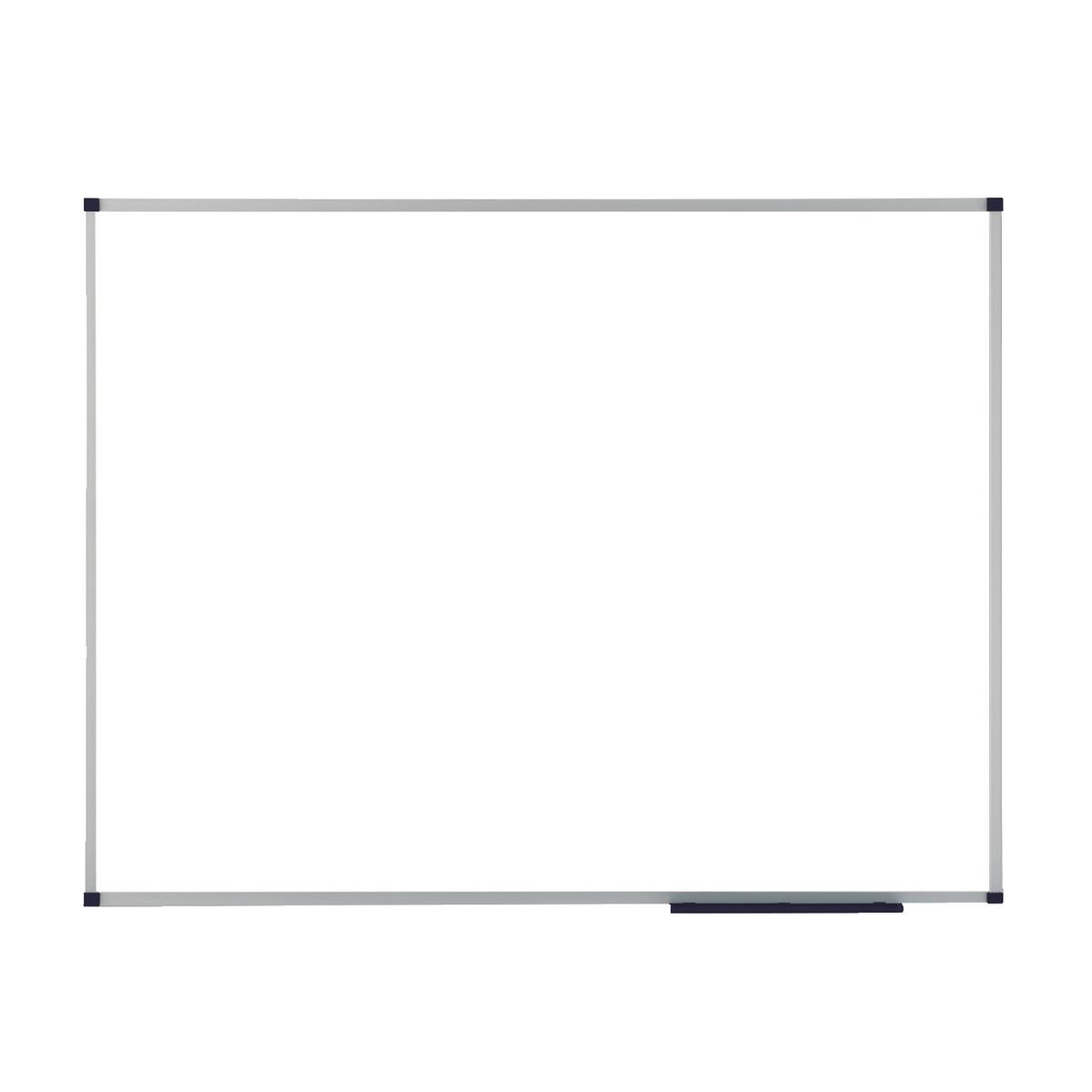 Nobo Prestige Enamel Eco Whiteboard Magnetic Fixings Included W900xH600mm White Ref 1905235