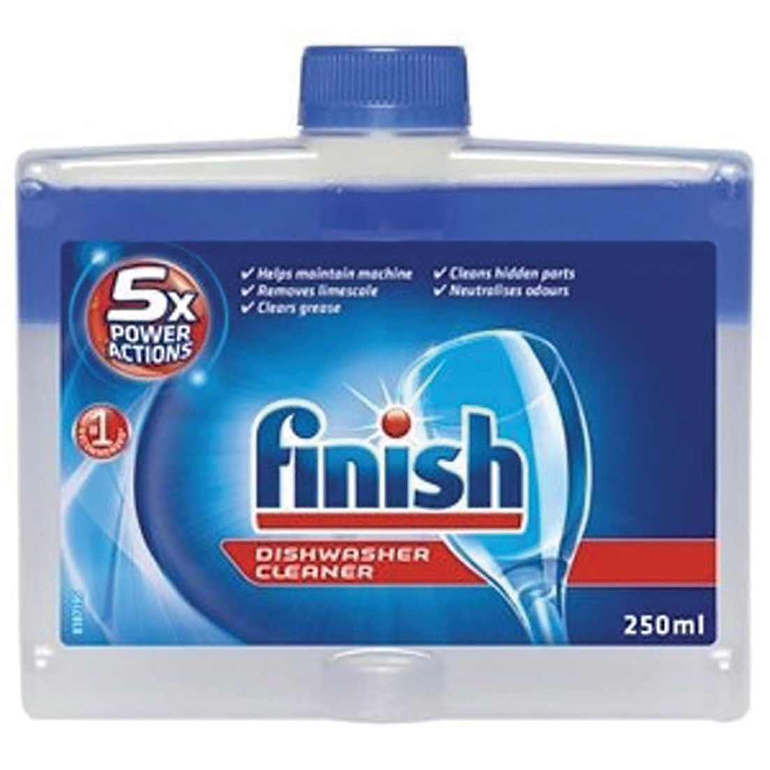 Dishwashing products Finish Dishwasher Cleaner Liquid 250ml Ref 153850
