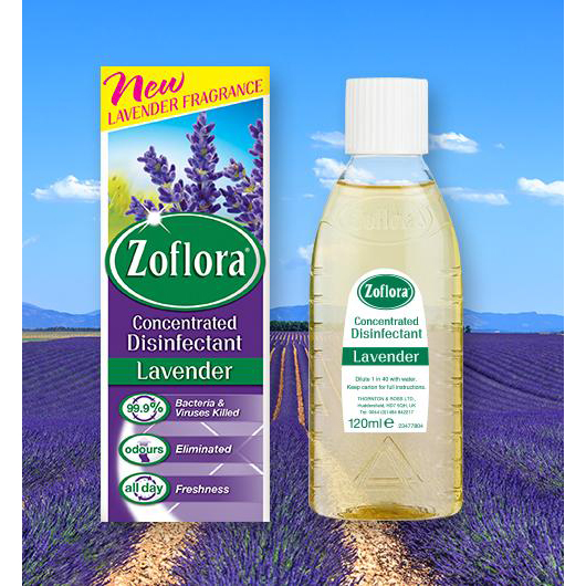 Zoflora Concentrated Disinfectant Lavender Fresh Makes 20 Litres from 500ml Bottle Ref RY0664