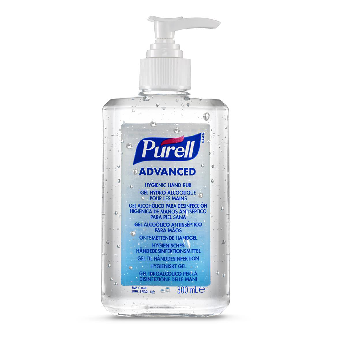 Disinfectant Wipes Purell Hand Sanitiser 300ml Ref N07812