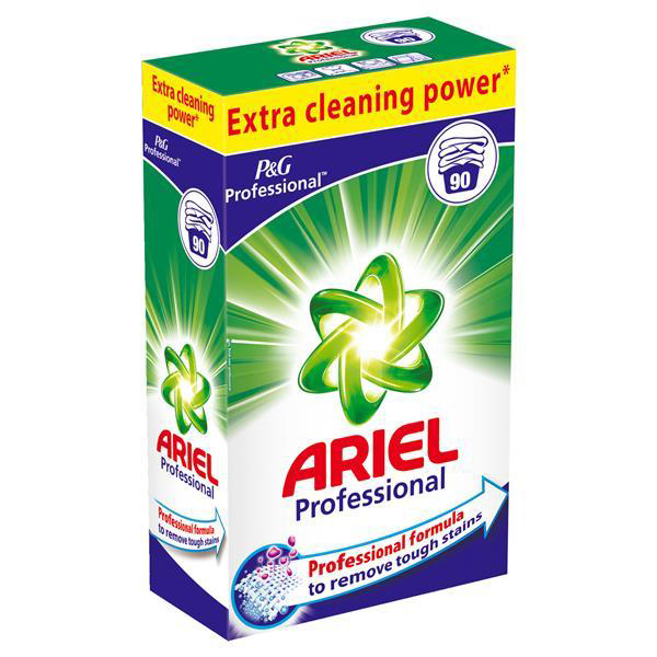 Image for Ariel Professional Washing Powder Deep Cleaning 90 washes Ref 75108
