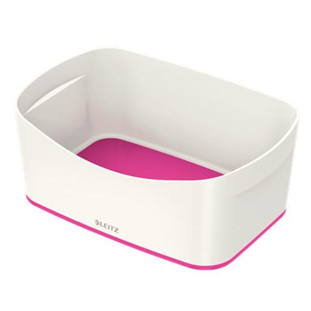 Leitz MyBox Storage Tray White and Pink Ref 52571023