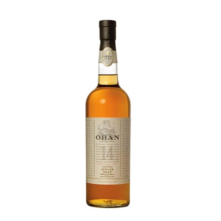 Oban 14 Year Old Malt Whisky 70cl Ref 10538 Pack 6 *Up to 10 Day Leadtime*