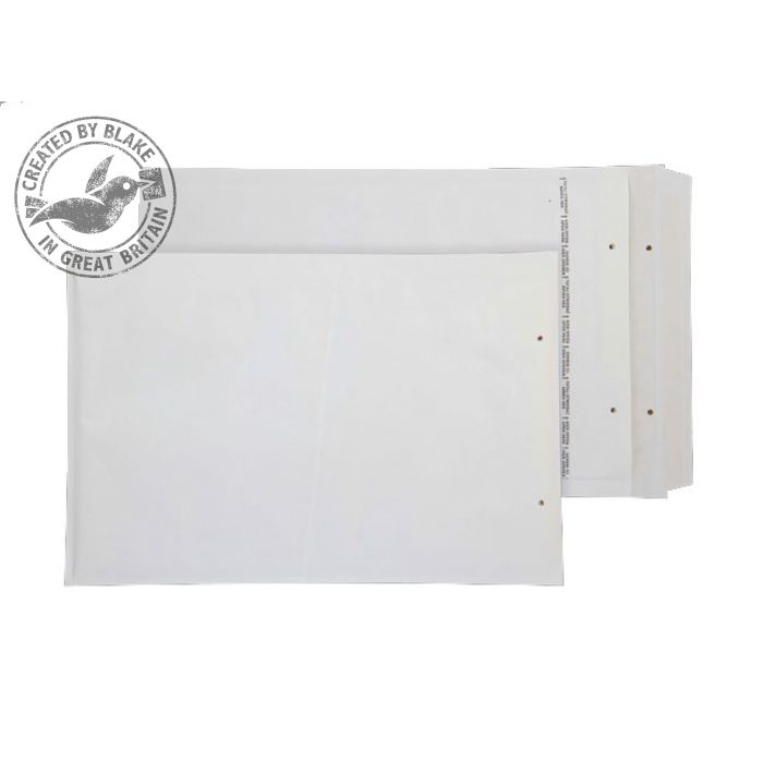Specialty envelopes Blake Purely Packaging Bubble Bag Peel & Seal 260x180mm White Ref D/1 Pk100 *10 Day Leadtime*