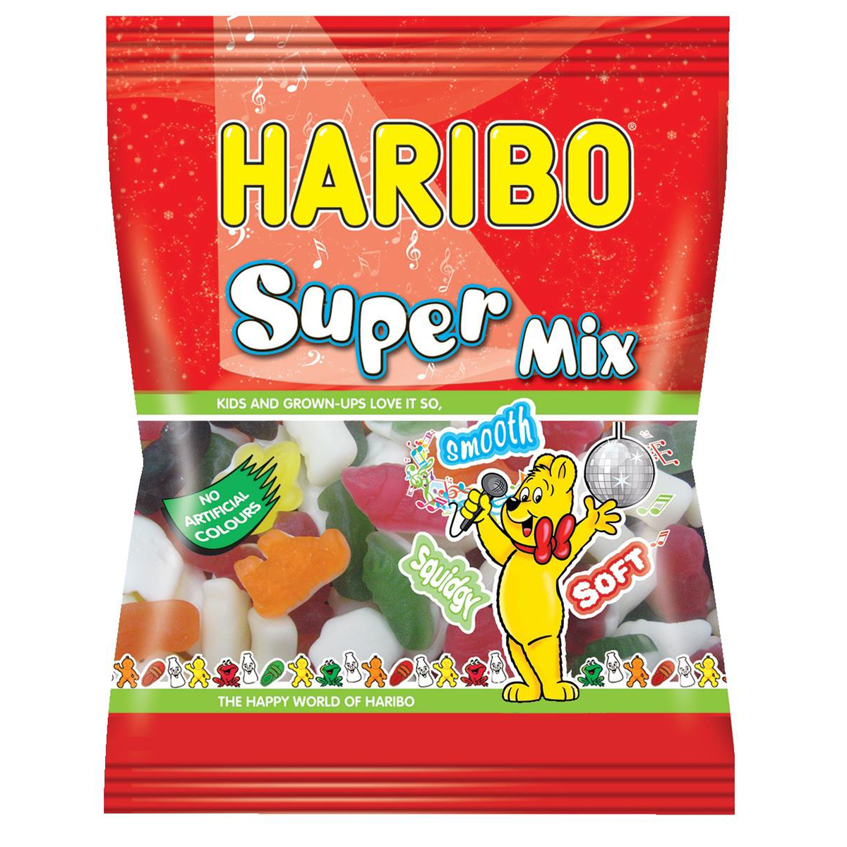 Sweets / Chocolate Haribo Supermix Sweets 140g Ref 72773