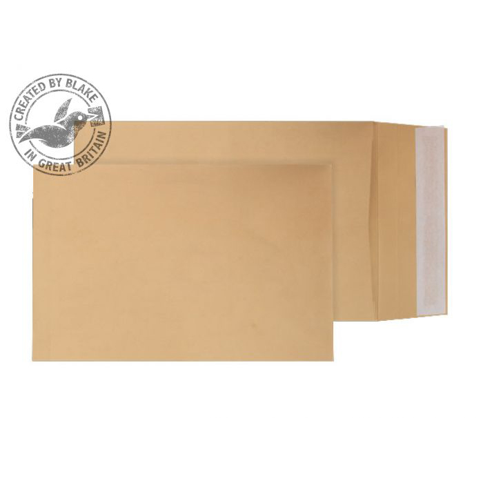 Blake Purely Packaging 254x178x25mm Gusset PocketP&S 120gsm Manilla Ref4810 Pack125 *3to5 Day Leadtime*