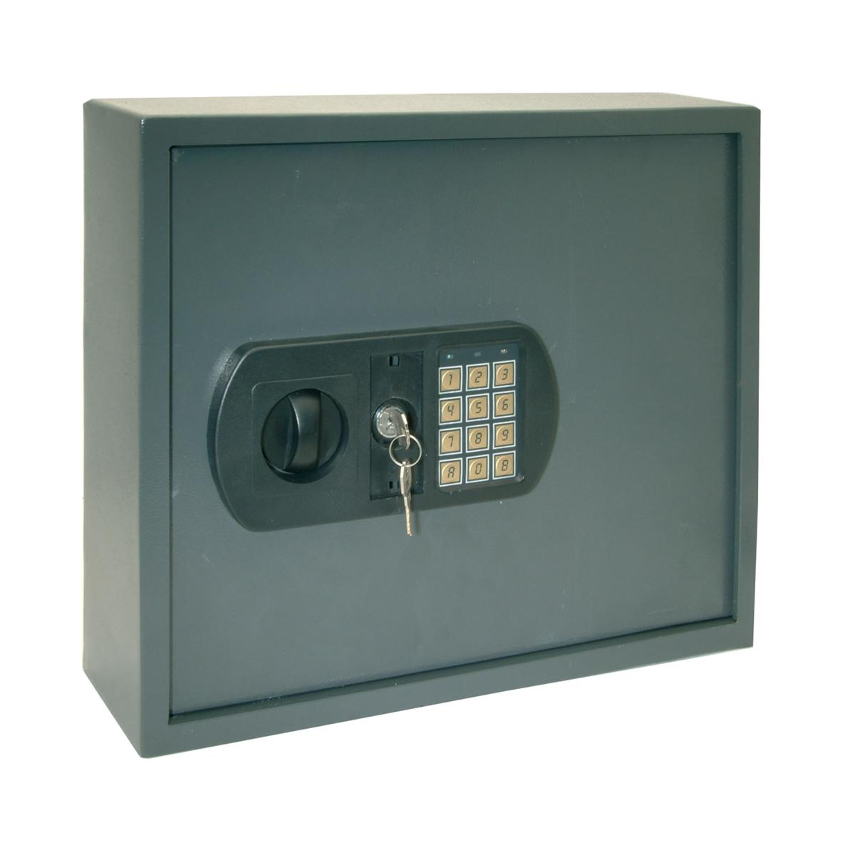 Key cabinets or organizers High Security Key Safe Electronic Key Pad and 30mm Double Bolt Locking 60 Keys