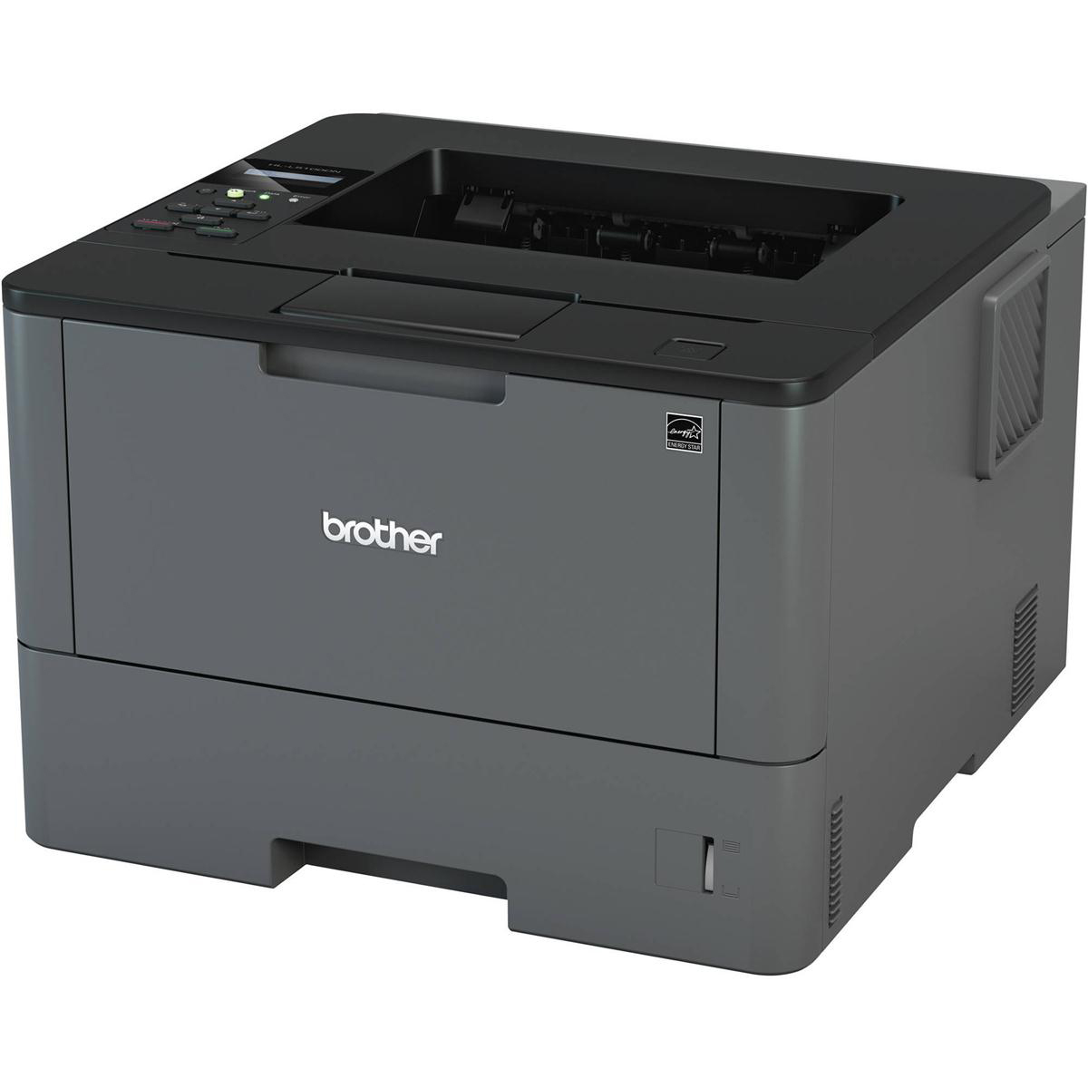 Laser Printers Brother HL-L5100DN High Speed Mono A4 Laser Printer Ref HLL5100DNZU1
