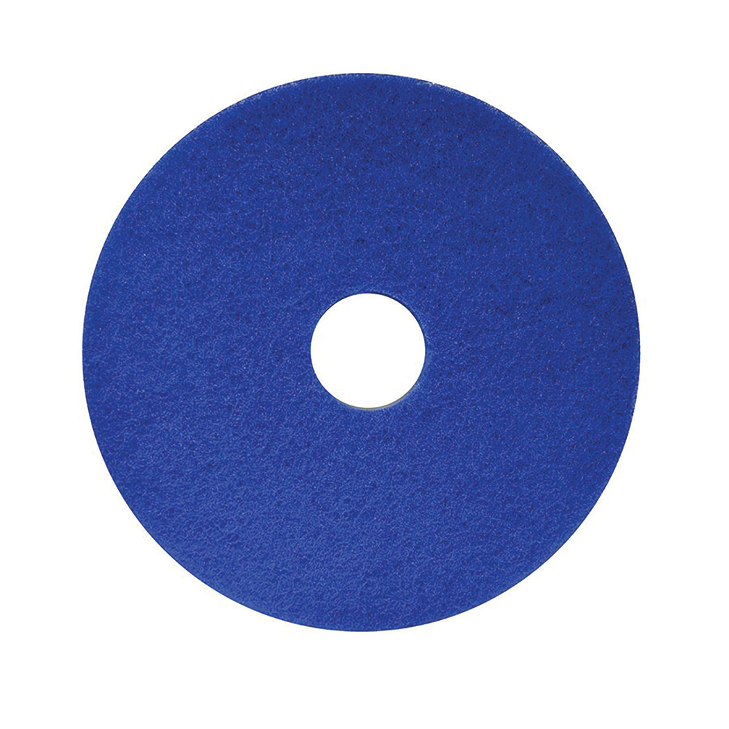 Maxima Floor Polish Pads 17in Blue Ref 0701011 Pack 5