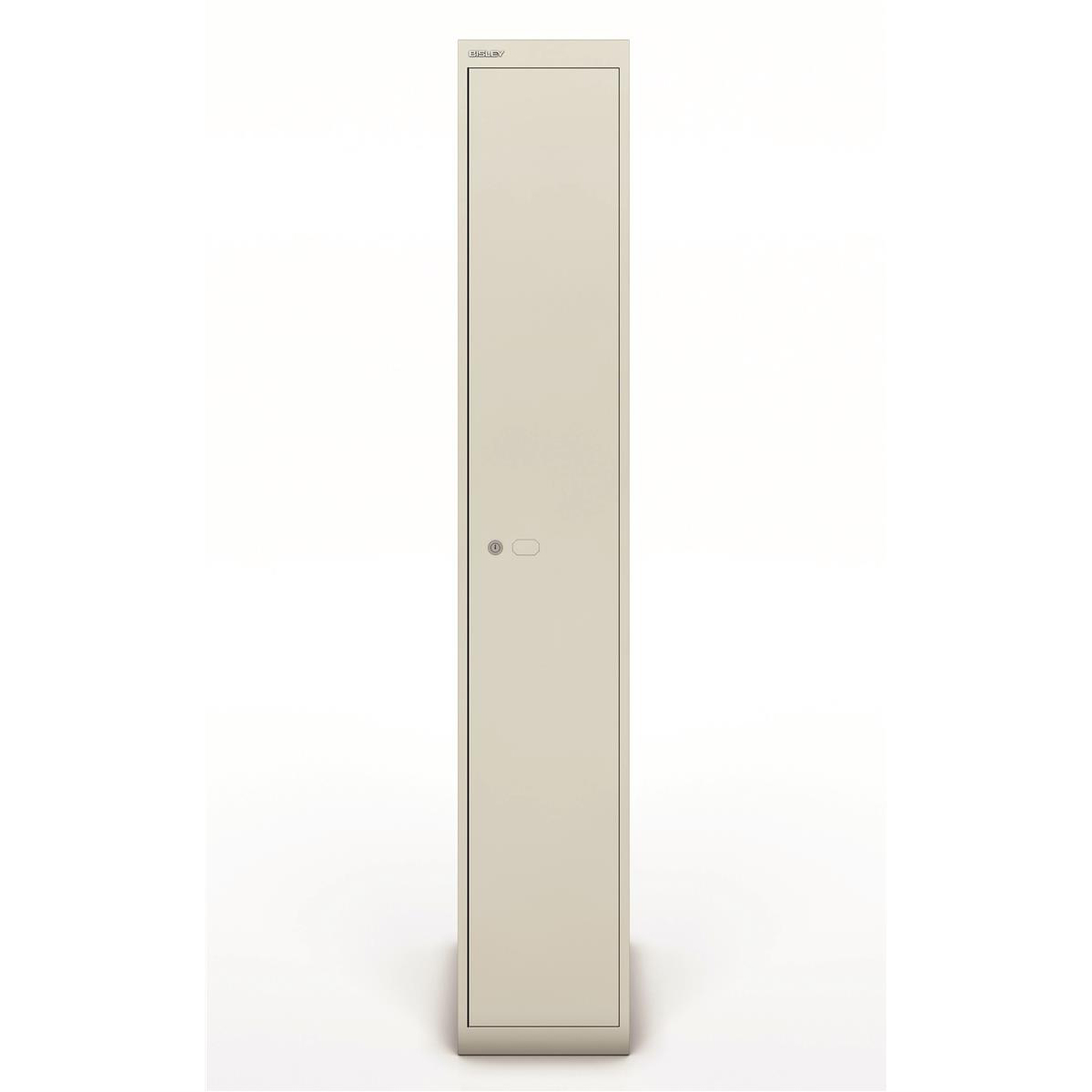 Lockers Bisley Locker 1 Door Goose Grey 457d Ref CLK181-av4