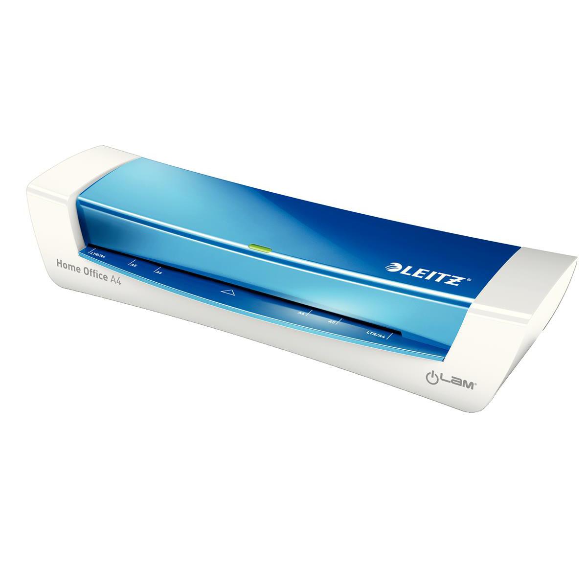 Leitz iLam HomeOffice Laminator A4 Blue Ref 73681036