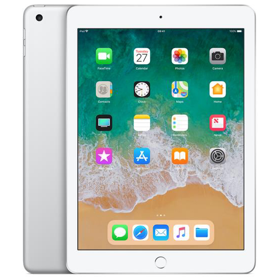 Apple iPad Wi-Fi 128GB 8Mp Camera 9.7inch Touch ID Finger Sensor Space Grey Ref MP2H2B/A