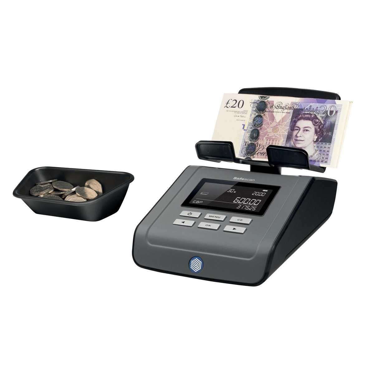 Safescan 6165 Money Counting Scale Ref 131-0573