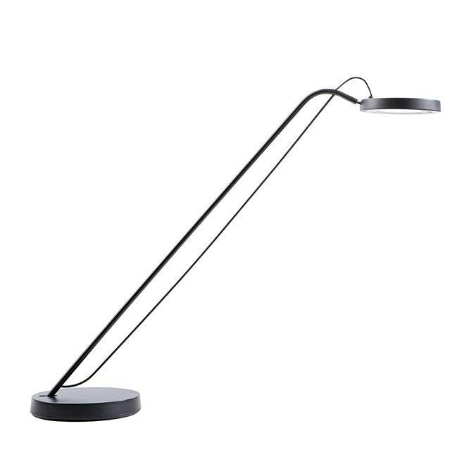 Unilux Illusio LED Desk Lamp Adjustable Arm 6.5W Max Height 630mm Base Diameter 140mm Black Ref 400076733