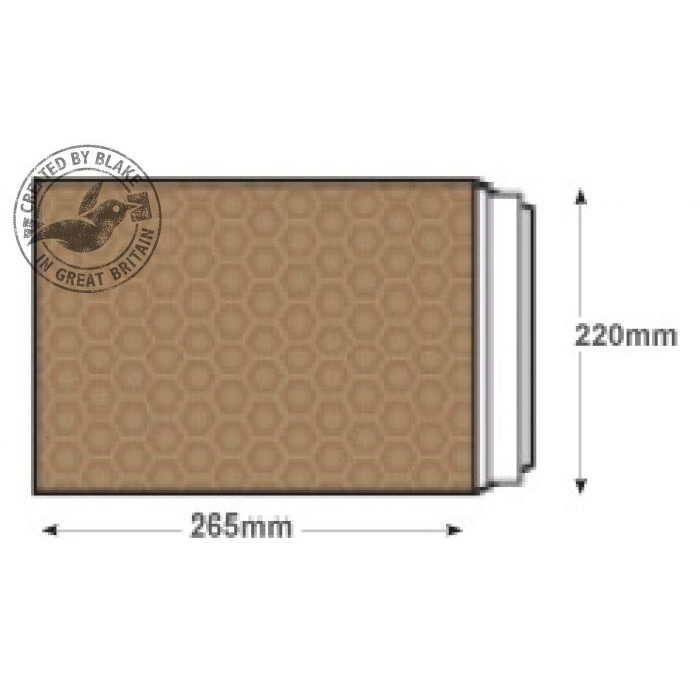 Blake Purely Packaging Padded Bubble Pocket P&S 260x220mm Gold Ref E/2GOLD [Pk100] *3 to 5 Day Leadtime*