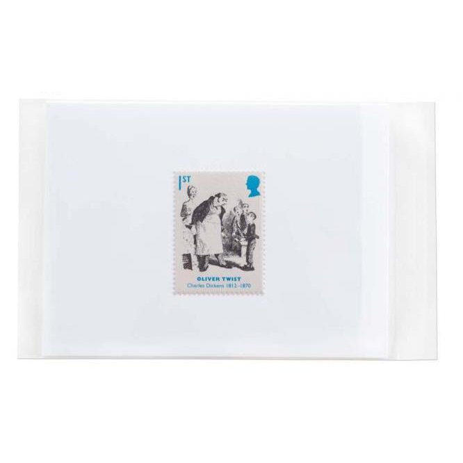 Polythene Envelopes Purely Packaging Cellophane Bag P&S 30mic 155x150x30mm Clear Ref CEL155 [Pk 500] *10 Day Leadtime*