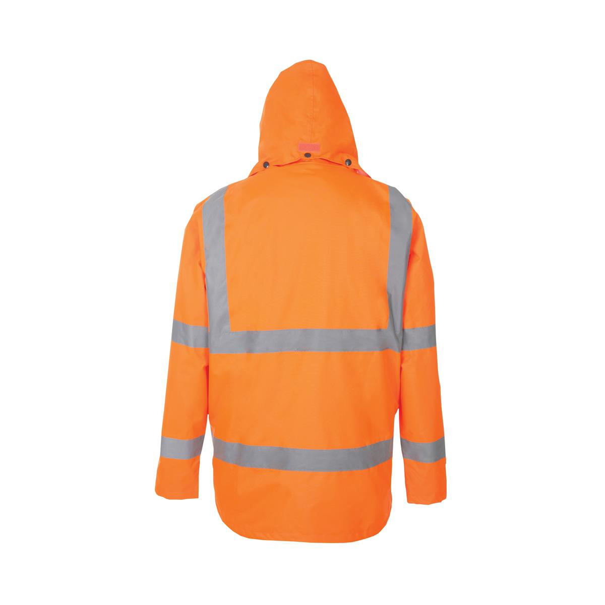 High Visibility Breathable Jacket Multifunctional Large Orange *Approx 2/3 Day Leadtime*