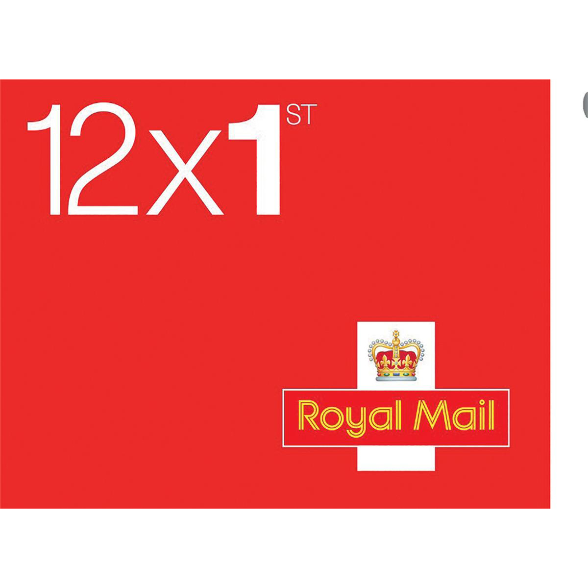 Royal Mail First Class Stamps 50 x Book of 12