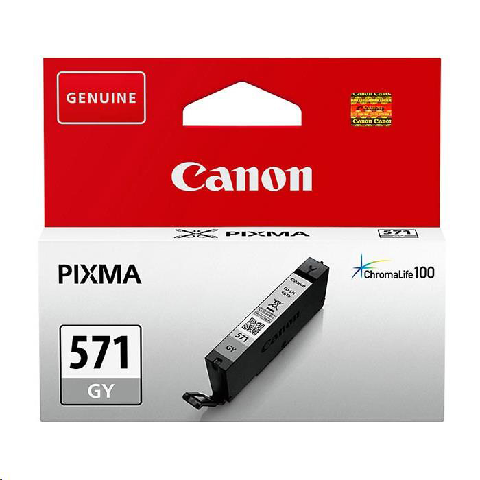 [ EX ] Canon CLI-571 Grey Ink Cartridge 0389C001