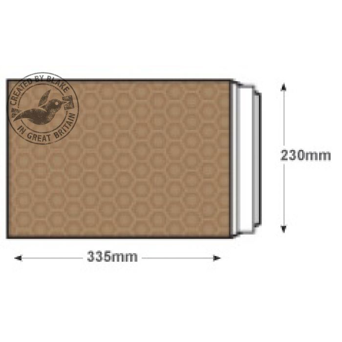 Blake Purely Packaging Padded Bubble Pocket P&S 340x220mm Gold Ref F/3GOLD [Pk100] 10 Day Leadtime