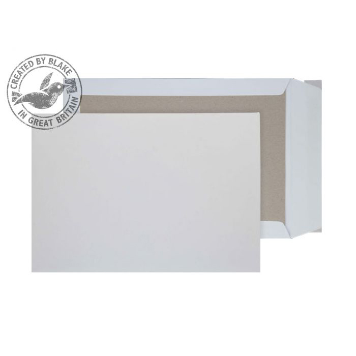 C5 Purely Packaging Envelope Board Backed P&S 120gsm C5 White Ref 5111 Pack 125 *10 Day Leadtime*