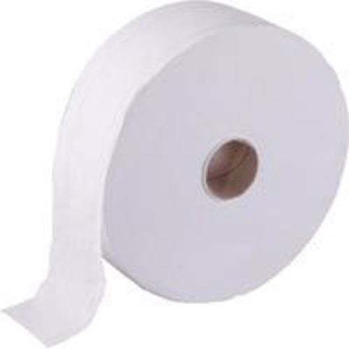 Maxima Jumbo Toilet Roll 400x90mm 2-Ply 410m White Ref 1102046 Pack 6