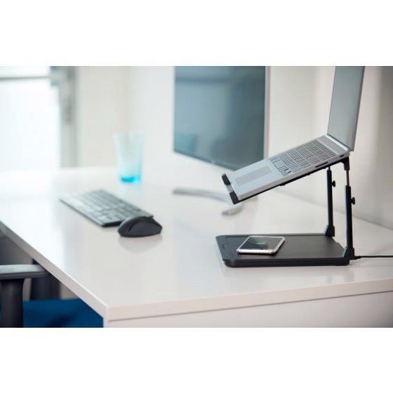 Kensington SmartFit Laptop Riser with Wireless Phone Charging Pad K52784WW