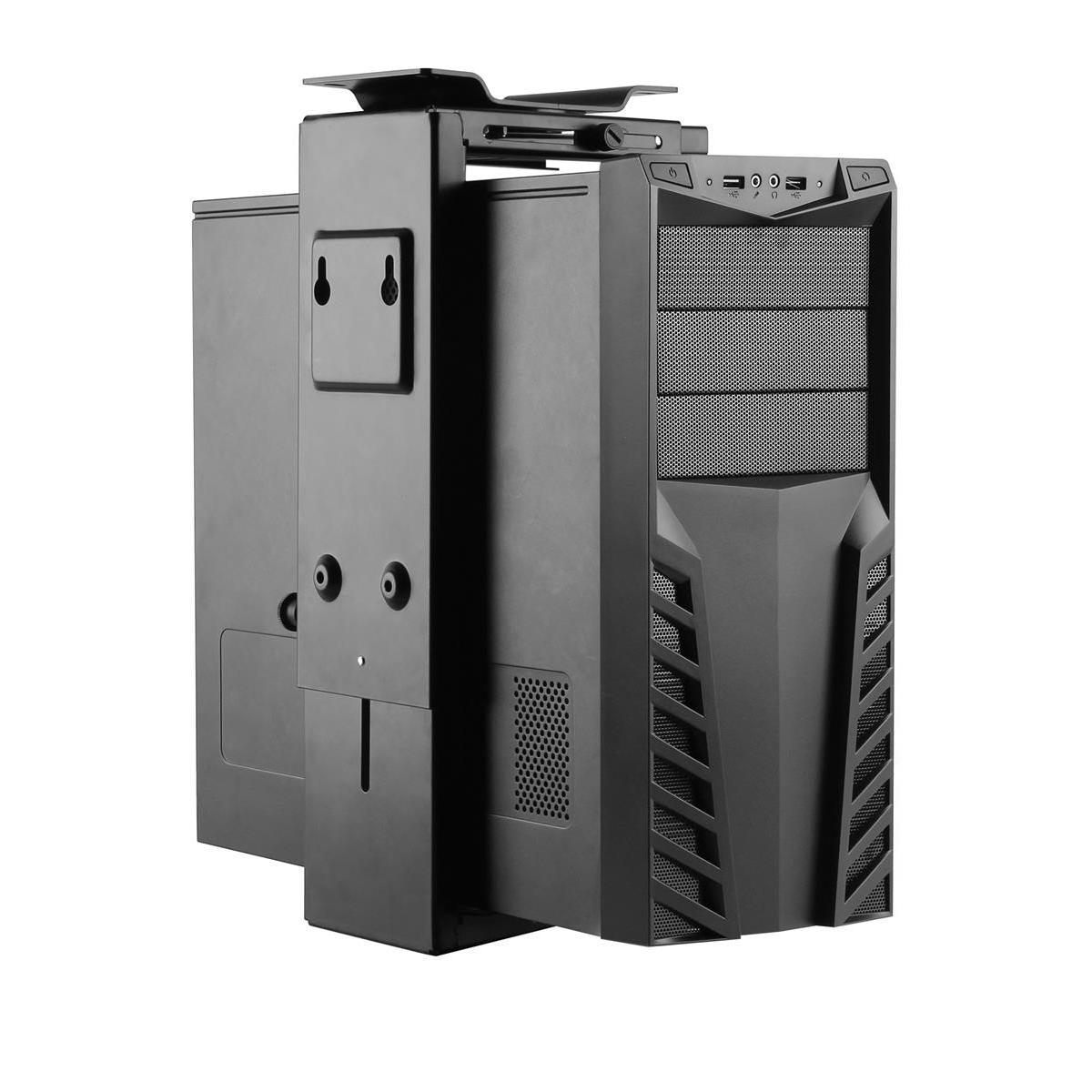 Acava Underdesk CPU Holder PH6UD 130x430x120mm Ref PH6UD
