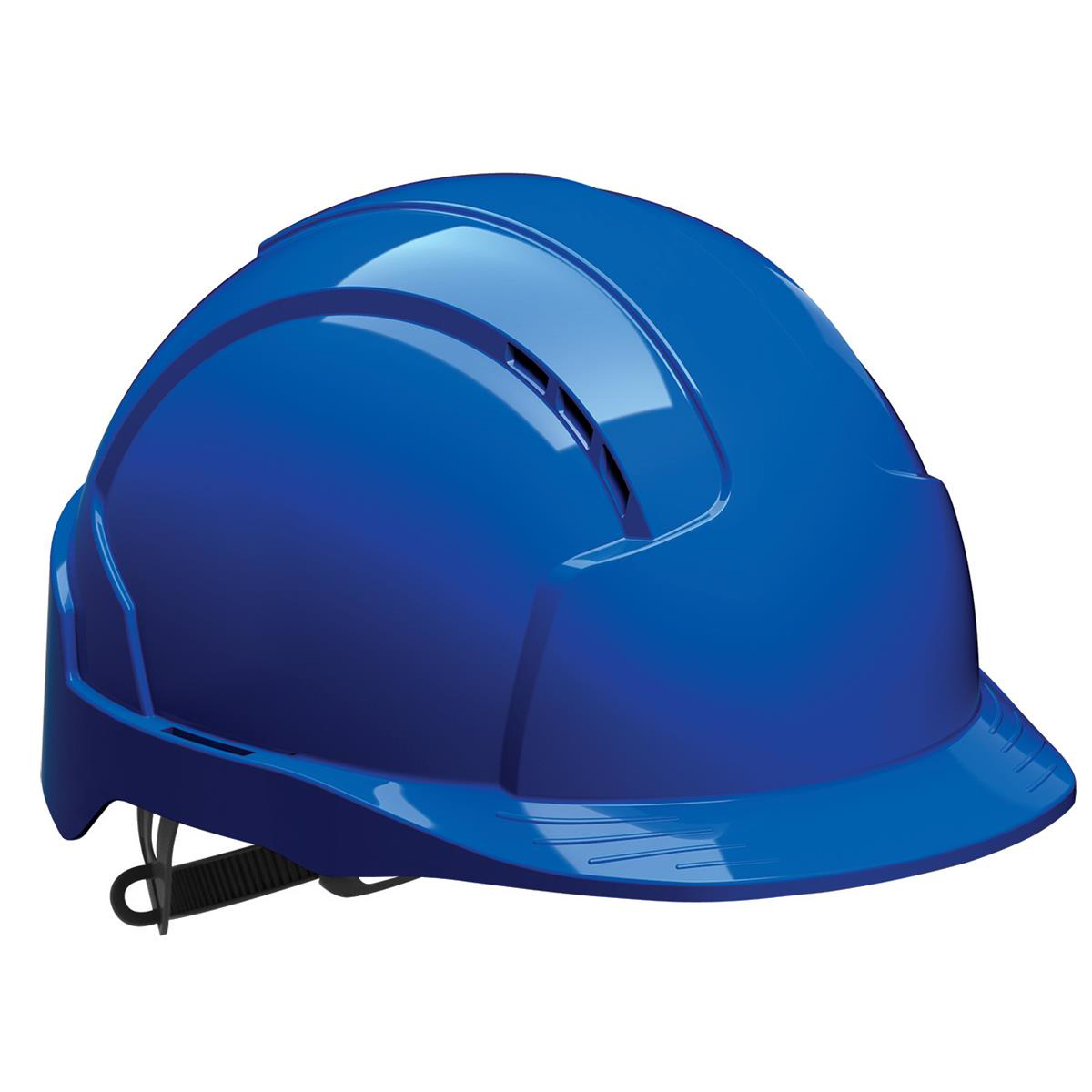 Safety helmets JSP EVOLite Safety Helmet ABS 6-point Terylene Harness EN397 Standard Blue Ref AJB160-000-500