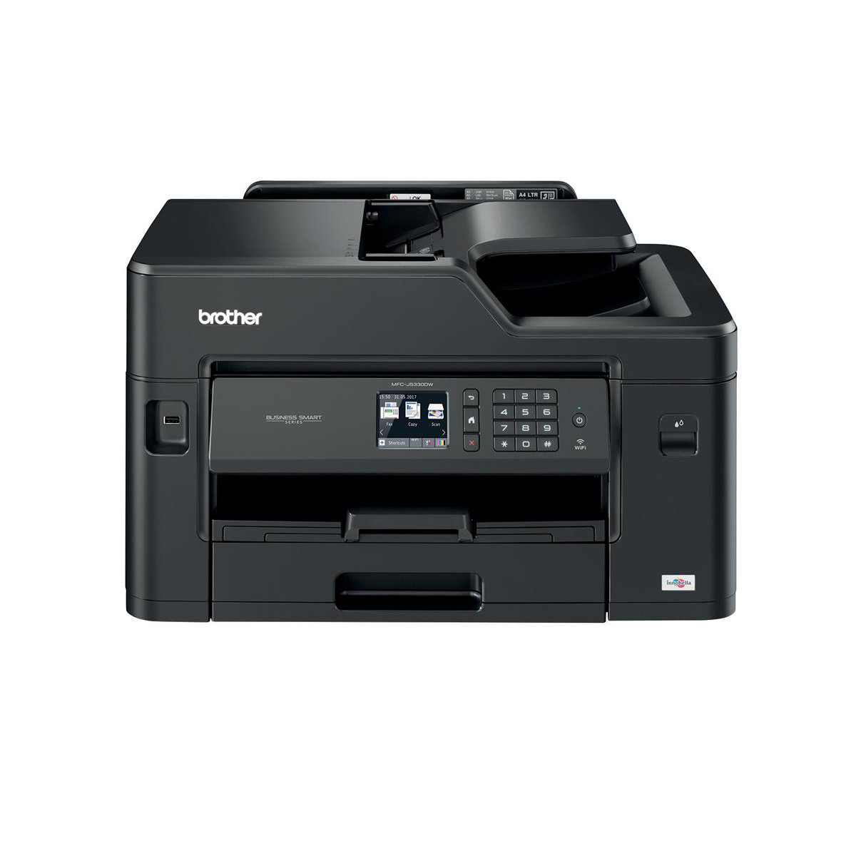 Multi function printers Brother Colour Multifunction A4 Inkjet Printer Ref MFCJ5330DWZU1
