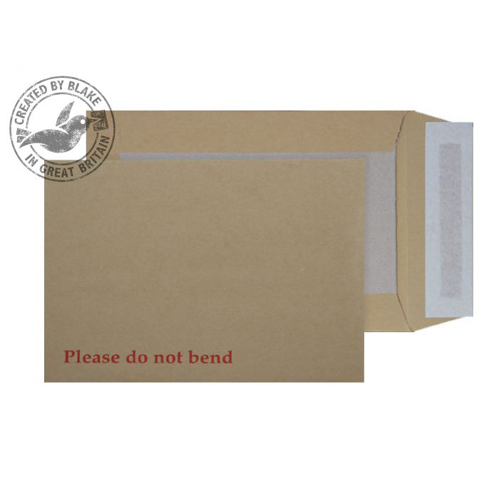 Purely Packaging Envelope Board Backed P&S 120gsm C5 Manilla Ref 5112 Pack 125 *10 Day Leadtime*