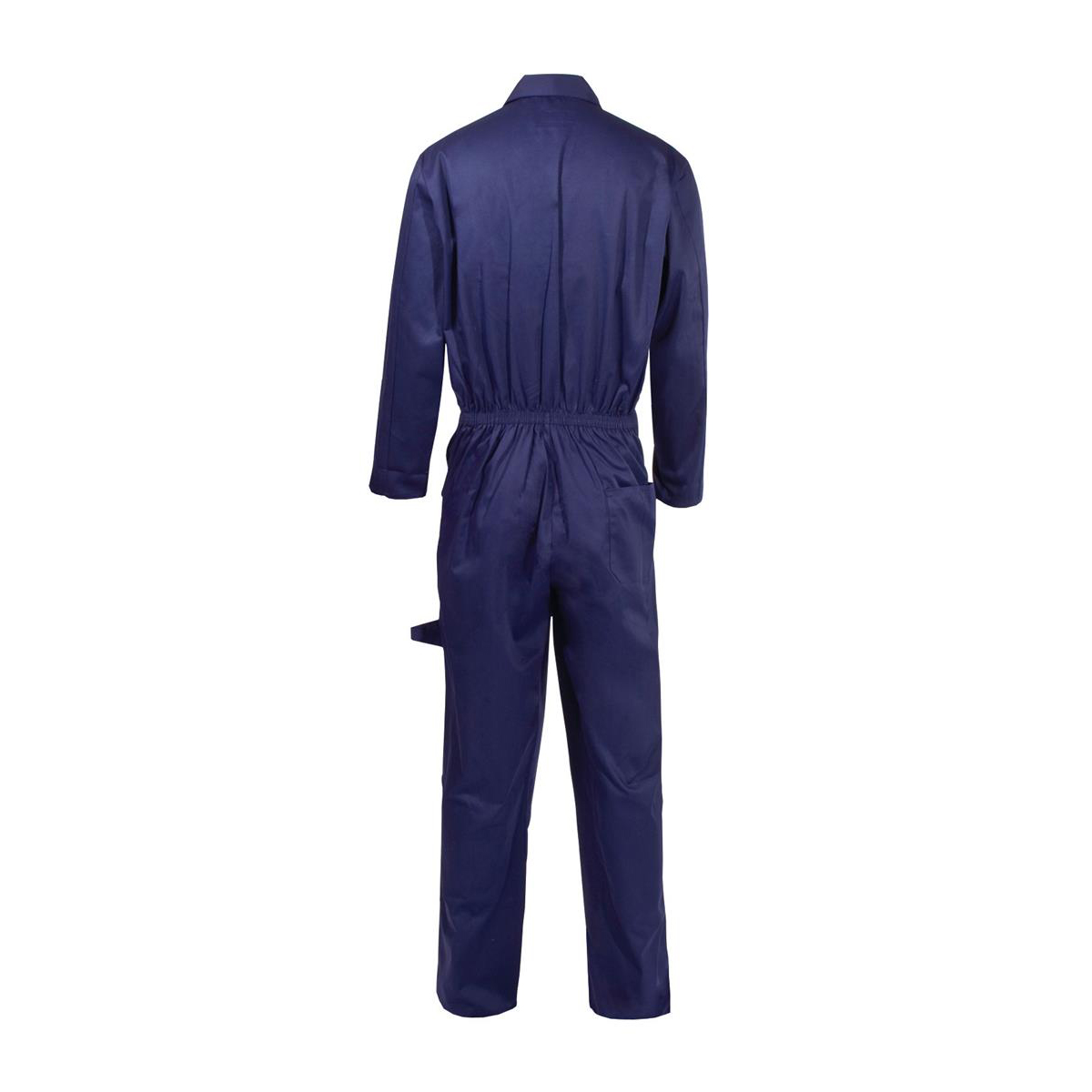 Coverall Basic with Popper Front Opening Polycotton Large Navy Ref RPCBSN44 *Approx 3 Day Leadtime*