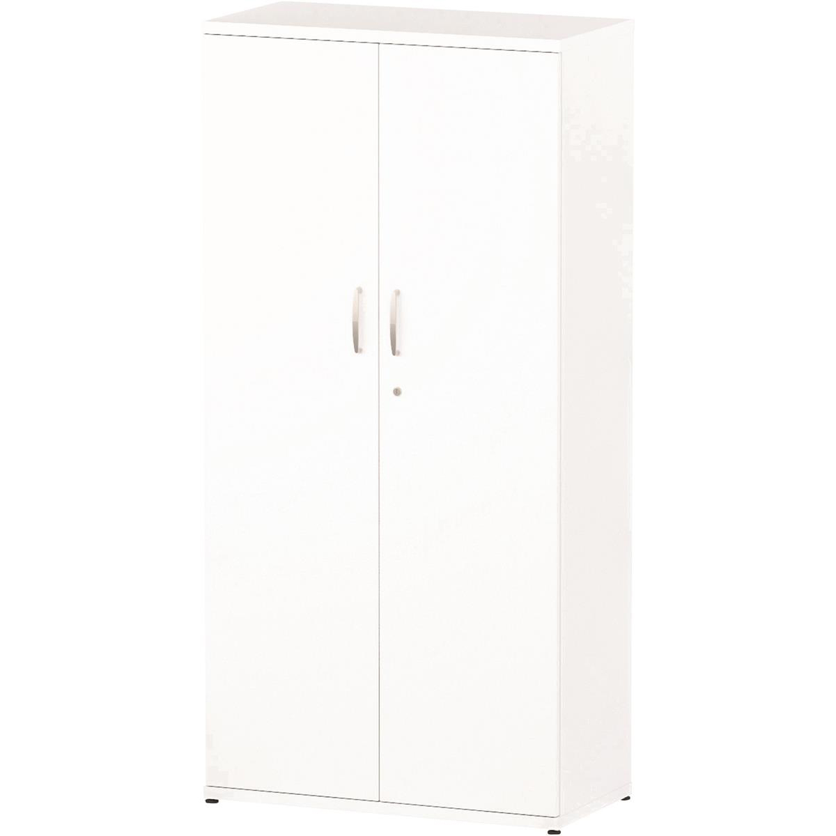 Trexus Office High Cupboard 800x400x1600mm 3 Shelves White Ref S00011