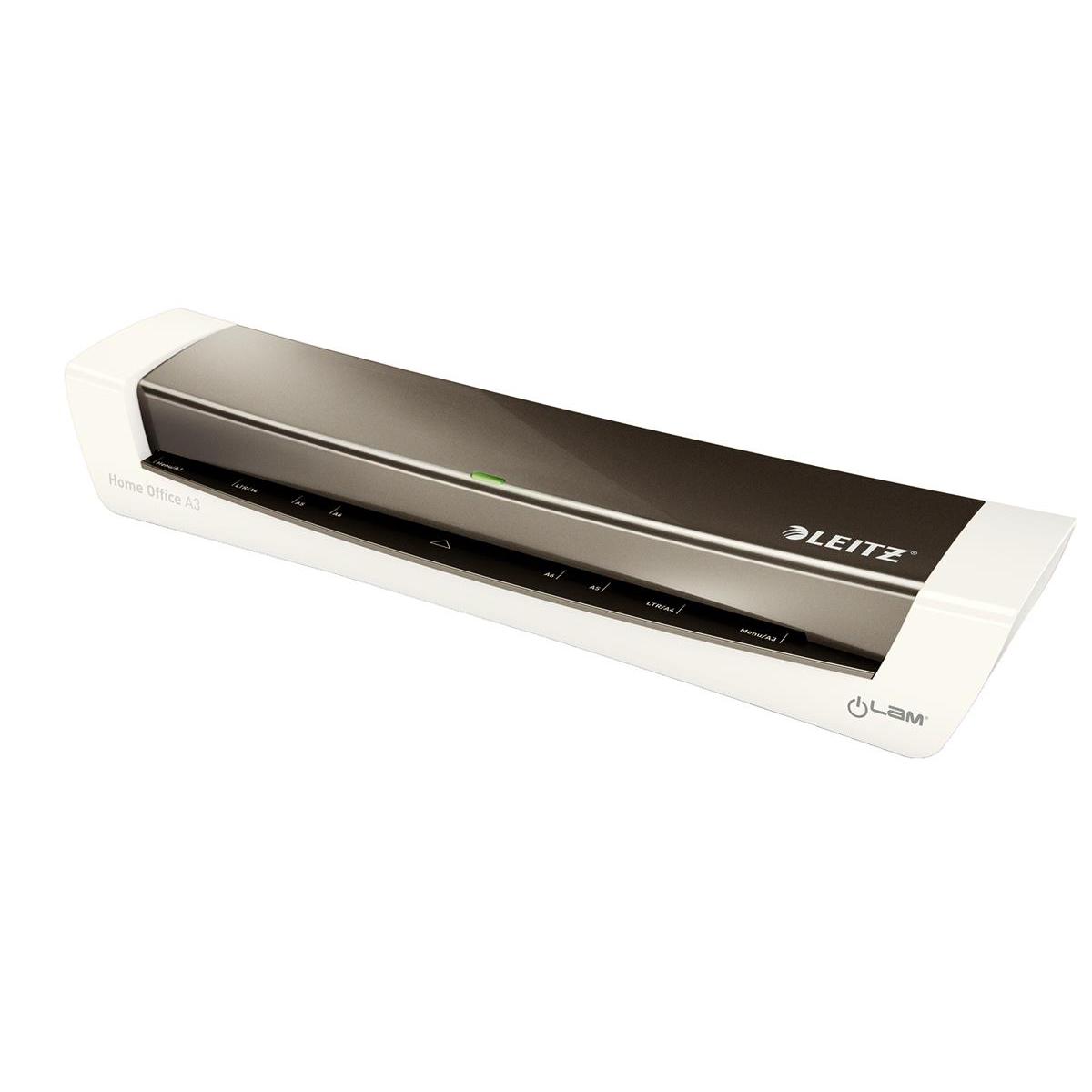 Leitz iLam HomeOffice Laminator A3 Grey Ref 74401089