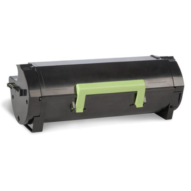 Lexmark 502U Laser Toner Cart Return Programme Ultra High Yield Page Life 20000pp UHY Black Ref 50FU200