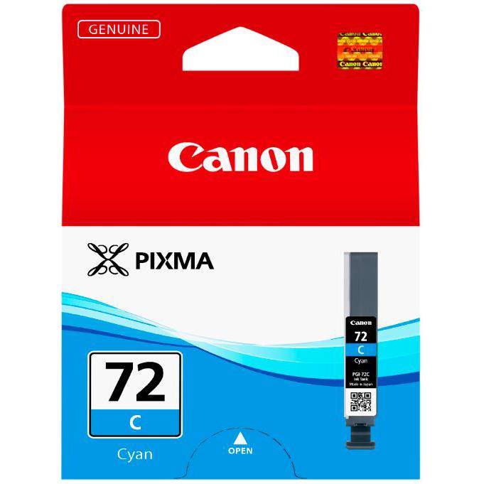 Canon PGI-72 Inkjet Cartridge Page Life 525pp Cyan Ref 6404B001