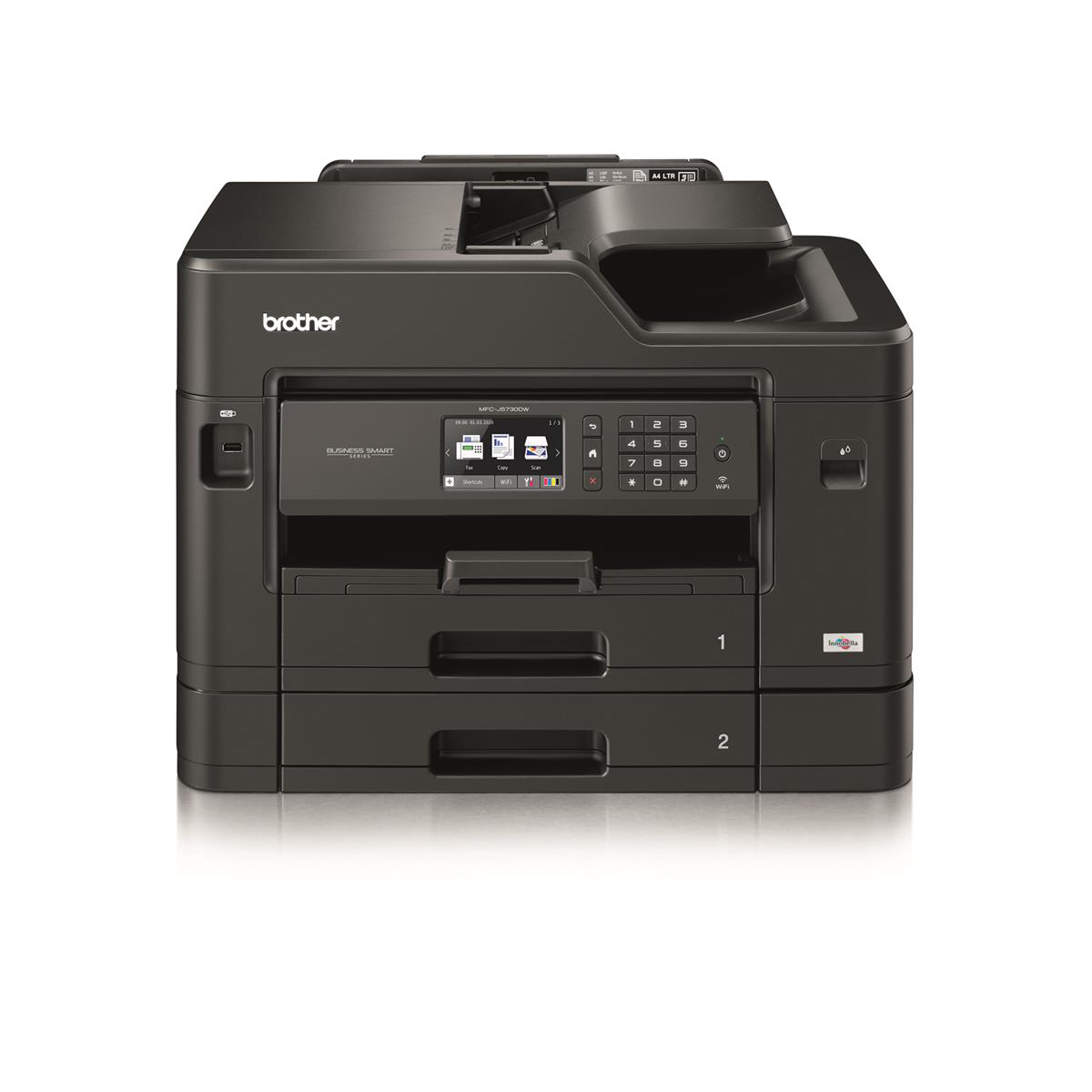 Brother Colour Multifunction Inkjet A4 Printer Ref MFCJ5730DWZU1