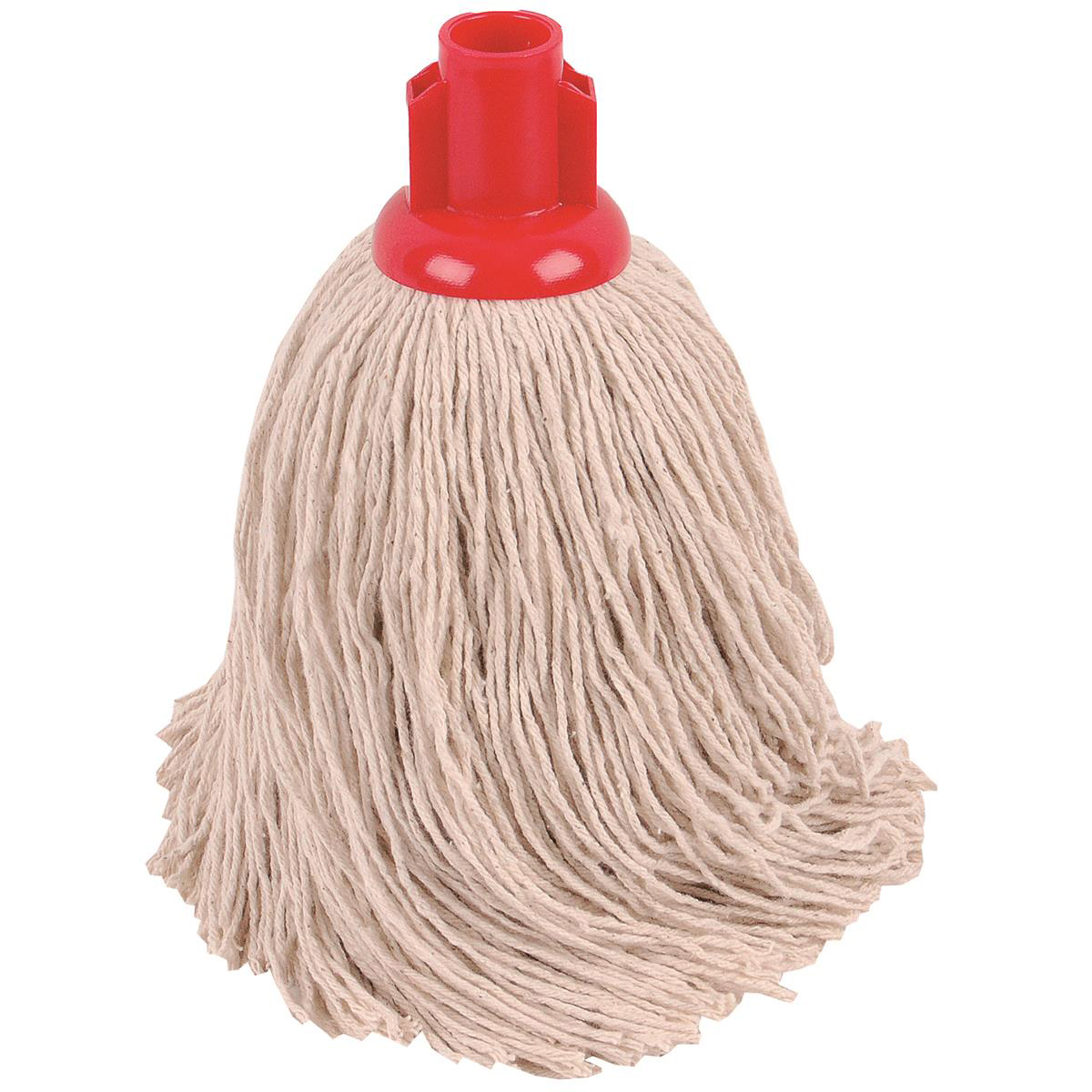 Robert Scott & Sons Twine Socket Mop for Rough Surfaces 16oz Red Ref 101858RED [Pack 10]